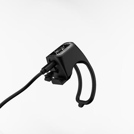Lumière de vélo avant/arrière DEL USB SL500 noire