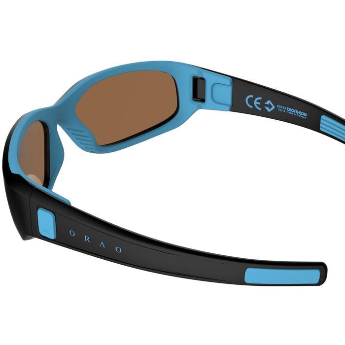 Lunettes de soleil randonnée enfant 4-6 ans KID 700 noires & bleues catégorie 3 - 205926