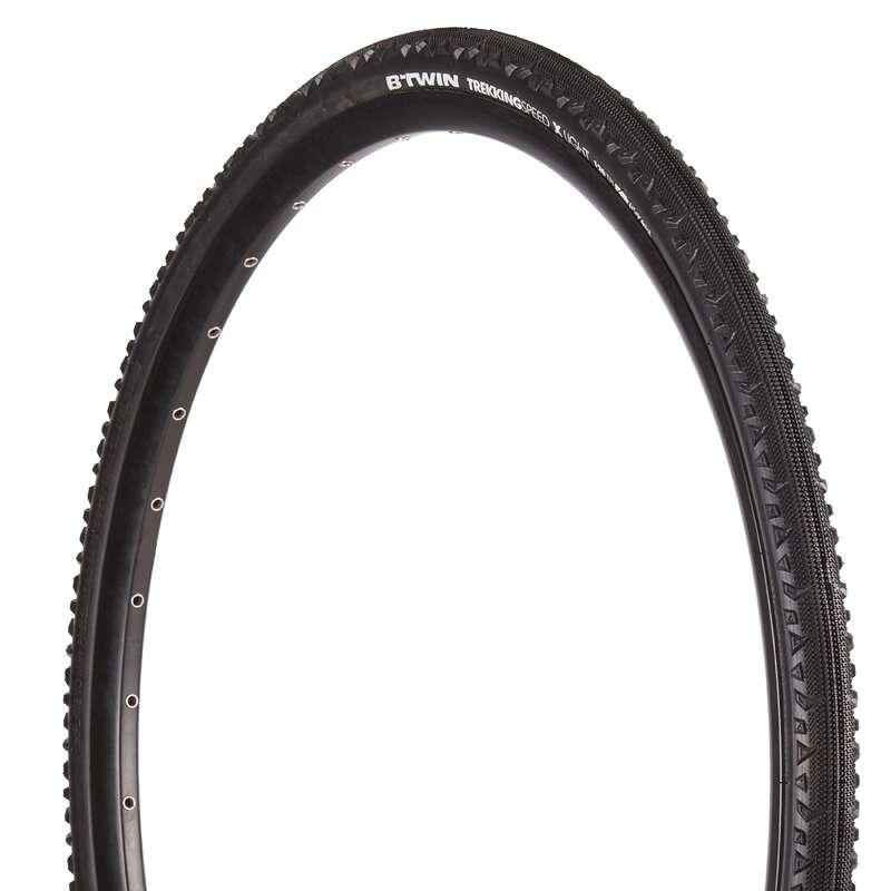 Reifen Hybrid Bike Radsport - Reifen Btwin Hybrid 9 37-622 RIVERSIDE - Fahrradteile