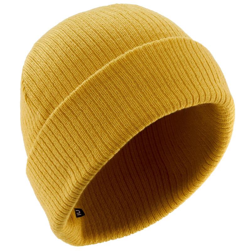 ADULT'S FISHERMAN SKIING HAT - OCHRE