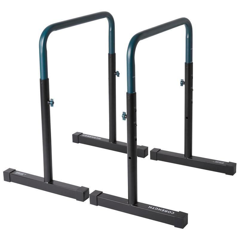 PRODUCTO OCASIÓN: Barras Paralelas Dip Bar Fondos Training Station 100 ajustable