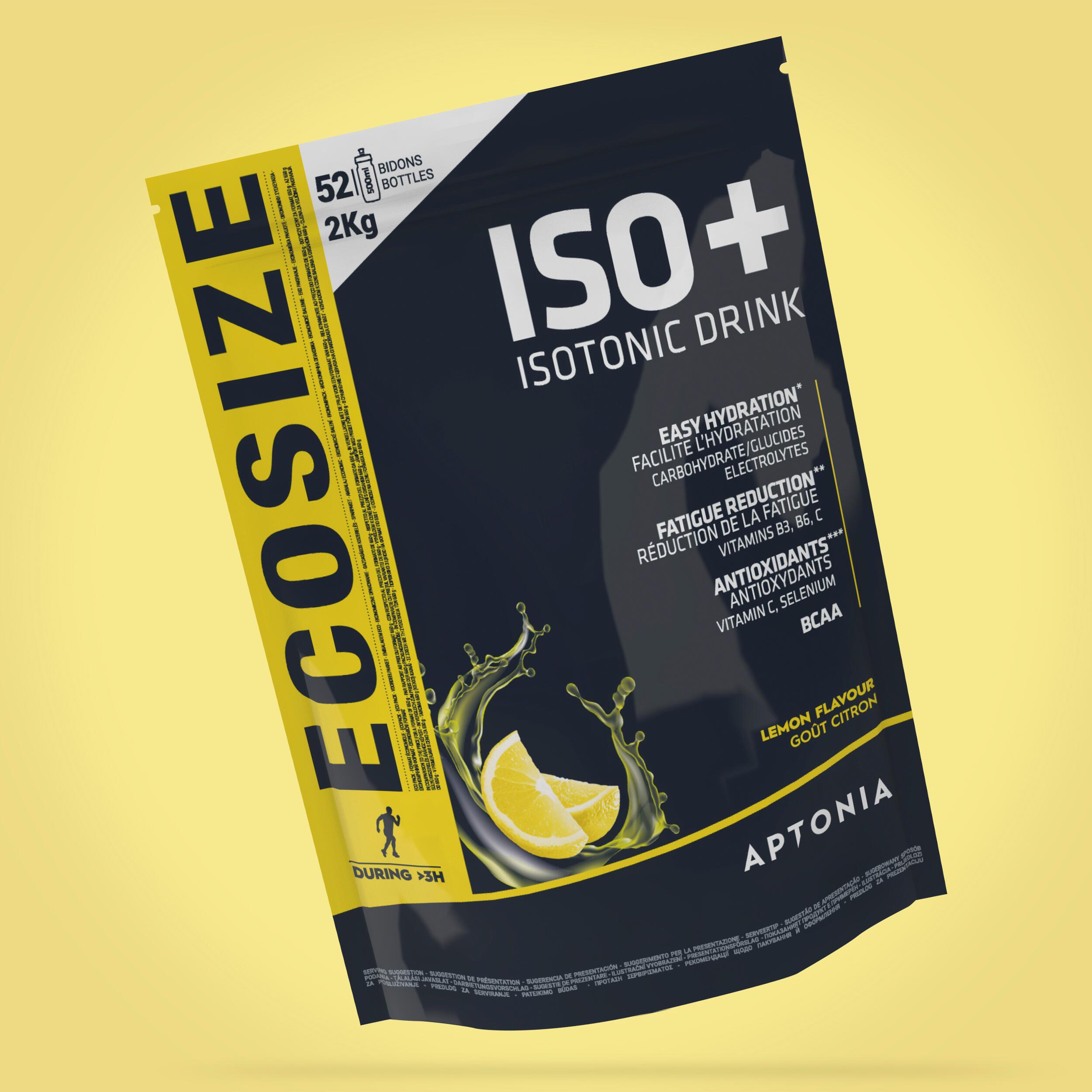 APTONIA. BEVANDA ISOTONICA IN POLVERE ISO+ LIMONE 2 kg
