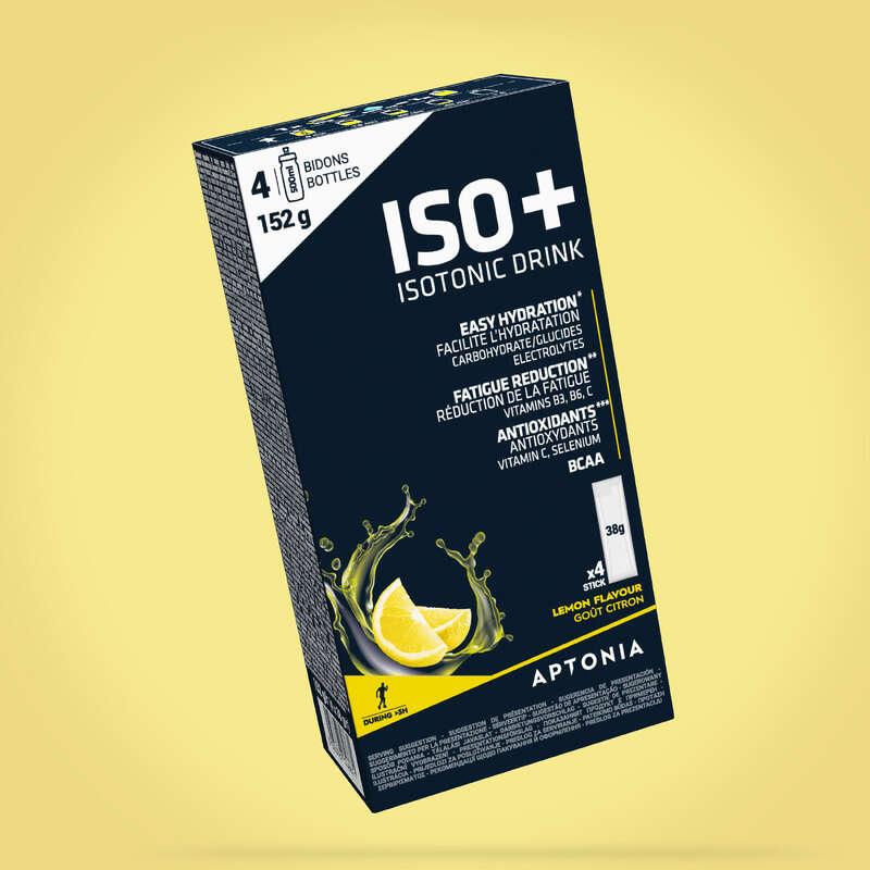 HIDRACIJA IN IZDELKI ZA PRED AKTIVNOSTJO Triatlon - Izotonični napitek ISO+  APTONIA - Prehrana in hidracija