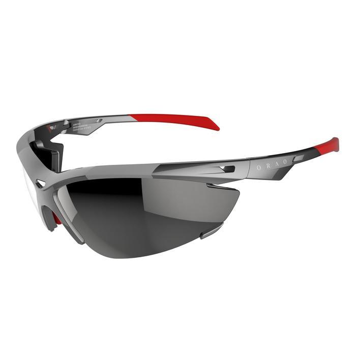 Lunettes de soleil vélo & running adulte ARROYO PACK grises verres changeables - 206158