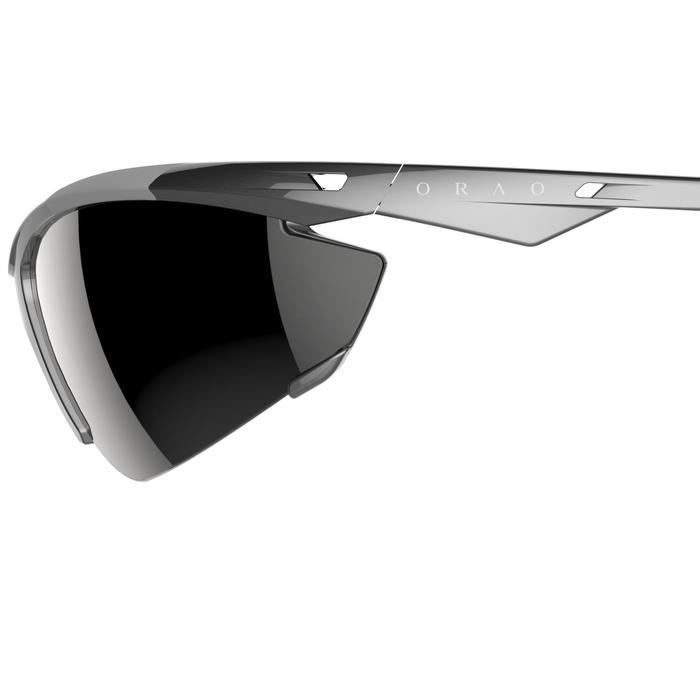 Lunettes de soleil vélo & running adulte ARROYO PACK grises verres changeables - 206160