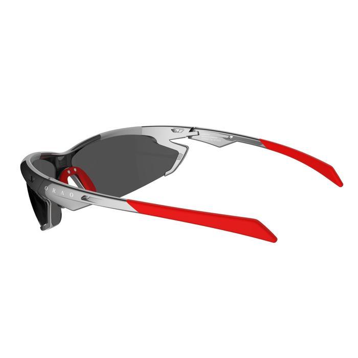 Lunettes de soleil vélo & running adulte ARROYO PACK grises verres changeables - 206162