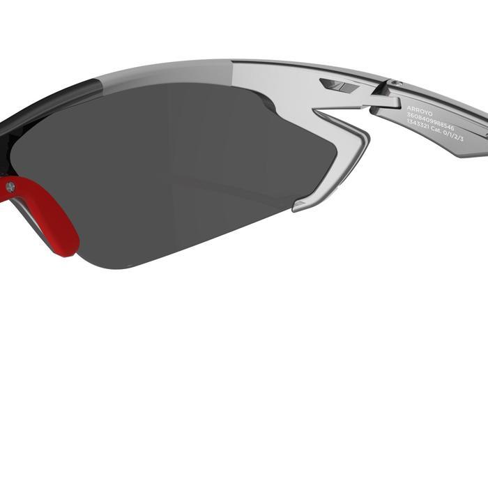 Lunettes de soleil vélo & running adulte ARROYO PACK grises verres changeables - 206165