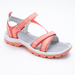 HIKING SANDALS - NH110 - CORAL - WOMEN