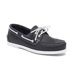Chaussures bateau cuir homme PHENIS