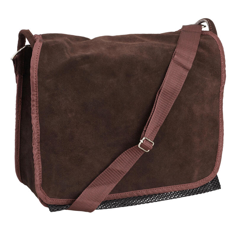Gibecière Chasse Cuir velours