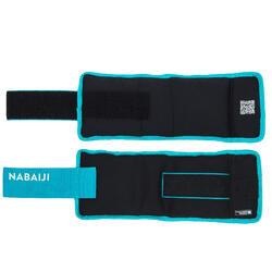 Gewichtsmanschetten Aquafitness 2*0,75kg blau