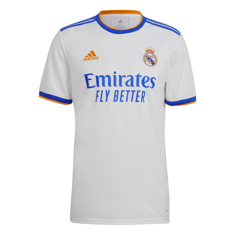 MAILLOT DE FOOTBALL DOMICILE REAL MADRID 21/22 ADULTE