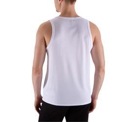 有氧健身運動背心Energy - 白色