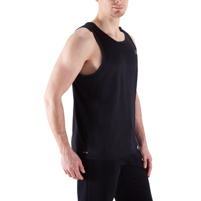 Débardeur fitness cardio homme noir Energy