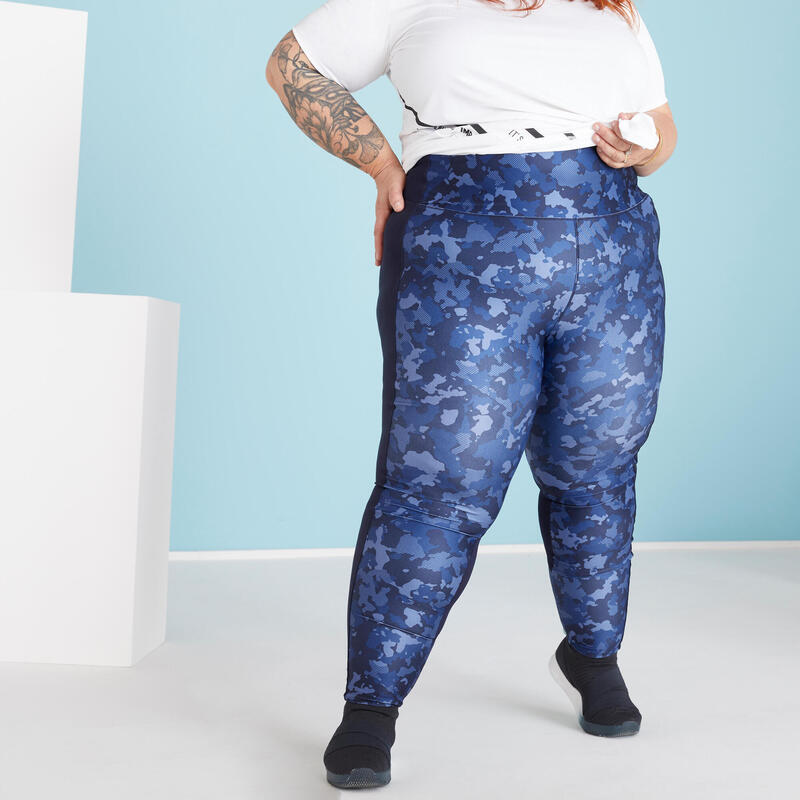 Fitness Leggings with Phone Pocket (Plus Size)