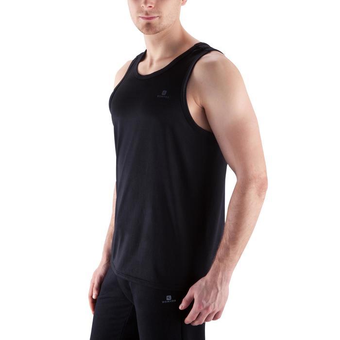 有氧健身運動背心Energy - 黑色
