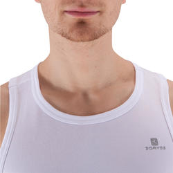 Energy Cardio Fitness Tank Top - White