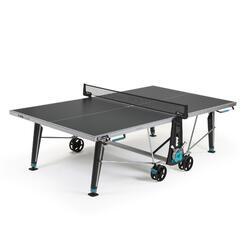Tafeltennistafel voor free tafeltennis 400X outdoor grijs
