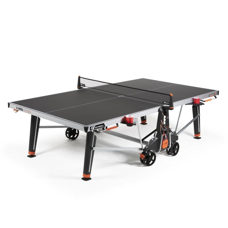TABLE DE PING PONG FREE 600X OUTDOOR GRISE