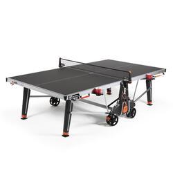 Tafeltennistafel voor free tafeltennis 600X outdoor grijs