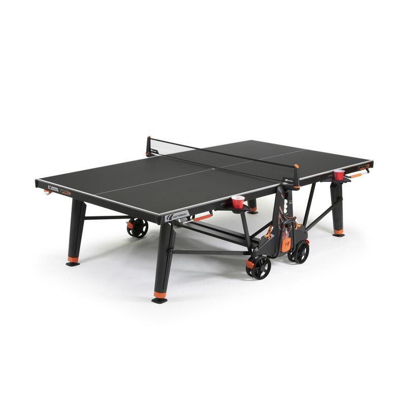 TABLE DE PING PONG FREE 700X OUTDOOR GRISE