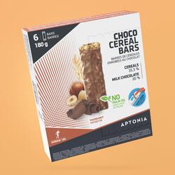 Barra de cereais cobertura chocolate Avelãs 6x30 g