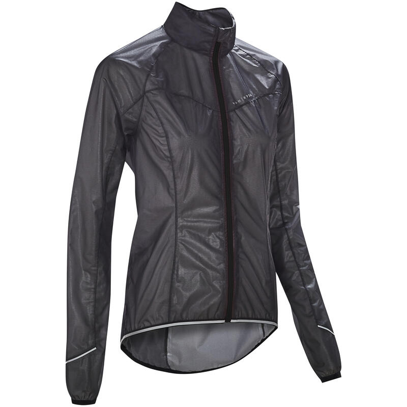 Ultralichte regen fietsjas voor dames 900