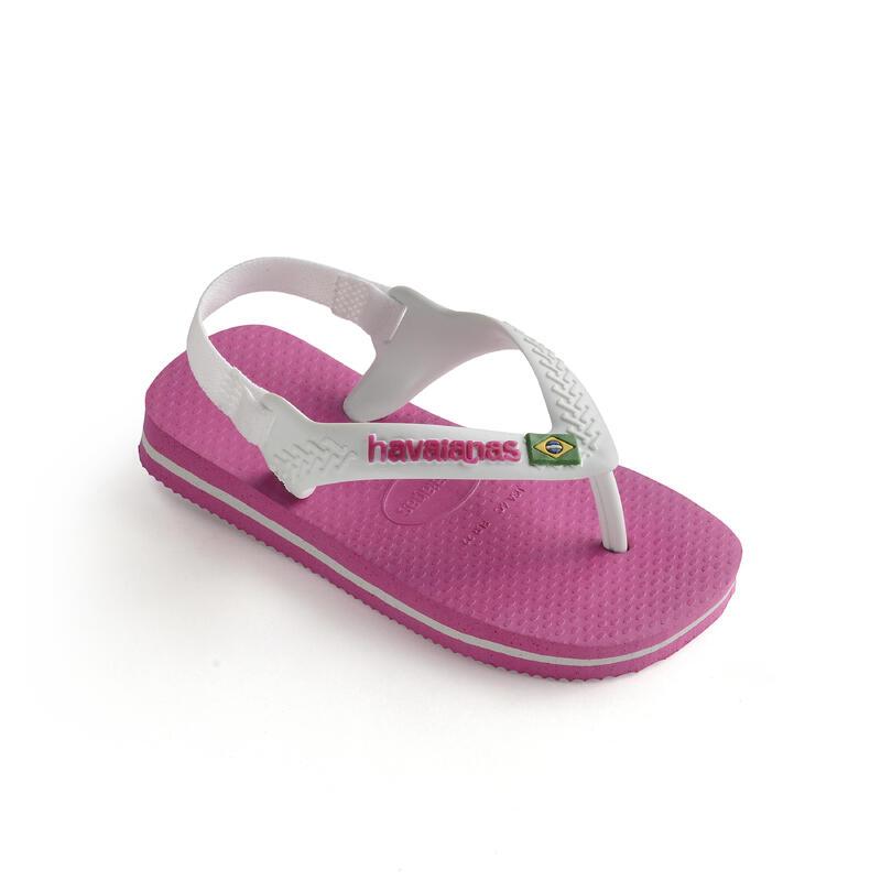 Tongs sandales HAVAIANAS Bébé rose