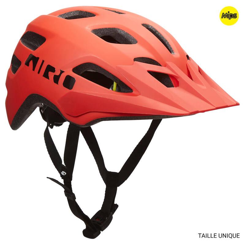 PŘILBY NA HORSKÁ KOLA Cyklistika - MTB HELMA TAO MIPS ČERVENÁ GIRO - Cyklistické vybavení