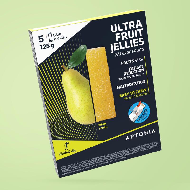 Gelatine di frutta energetiche pera 5x25 g