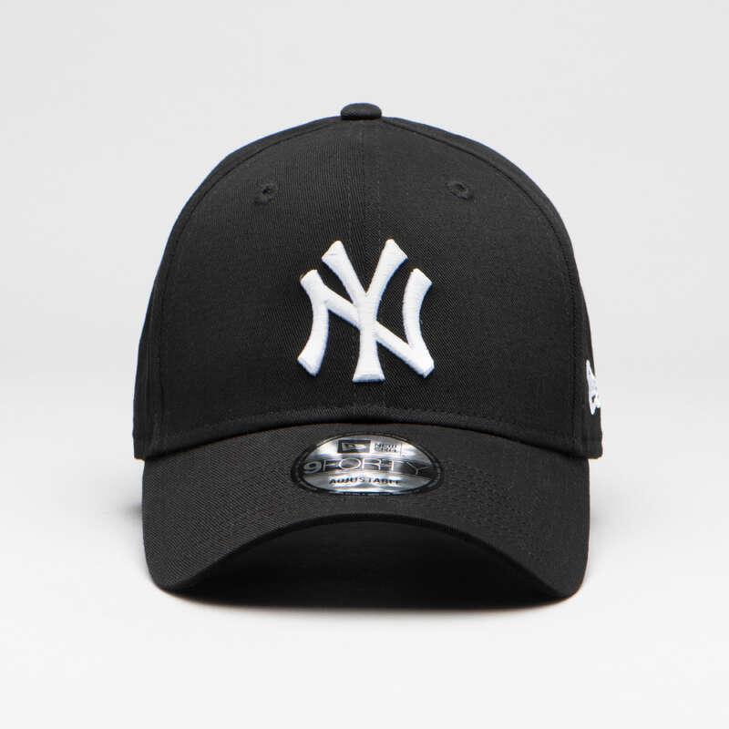 Baseball ütők és labdák USA csapatsportok, rögbi, floorball - Baseball sapka New York Yankee NEW ERA - USA csapatsportok, rögbi, floorball BLACK