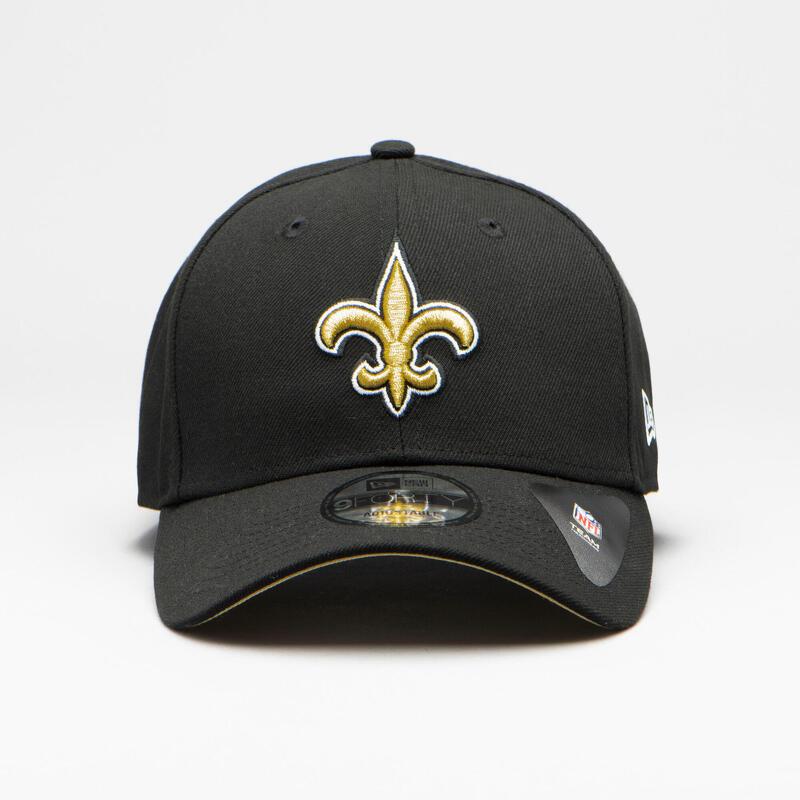 Gorra Fútbol Americano New Era NFL Nouvelle Orléans Saints Adulto Negra