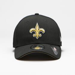 Boné de Futebol Americano Adulto NFL The League New Orleans Saints Preto