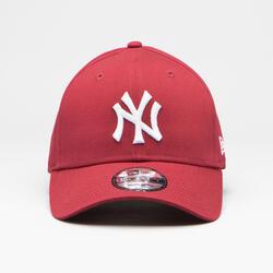 BONÉ DE BASEBOL MLB ADULTO NEW ERA 9FORTY NEW YORK YANKEES VERMELHO CARDINAL