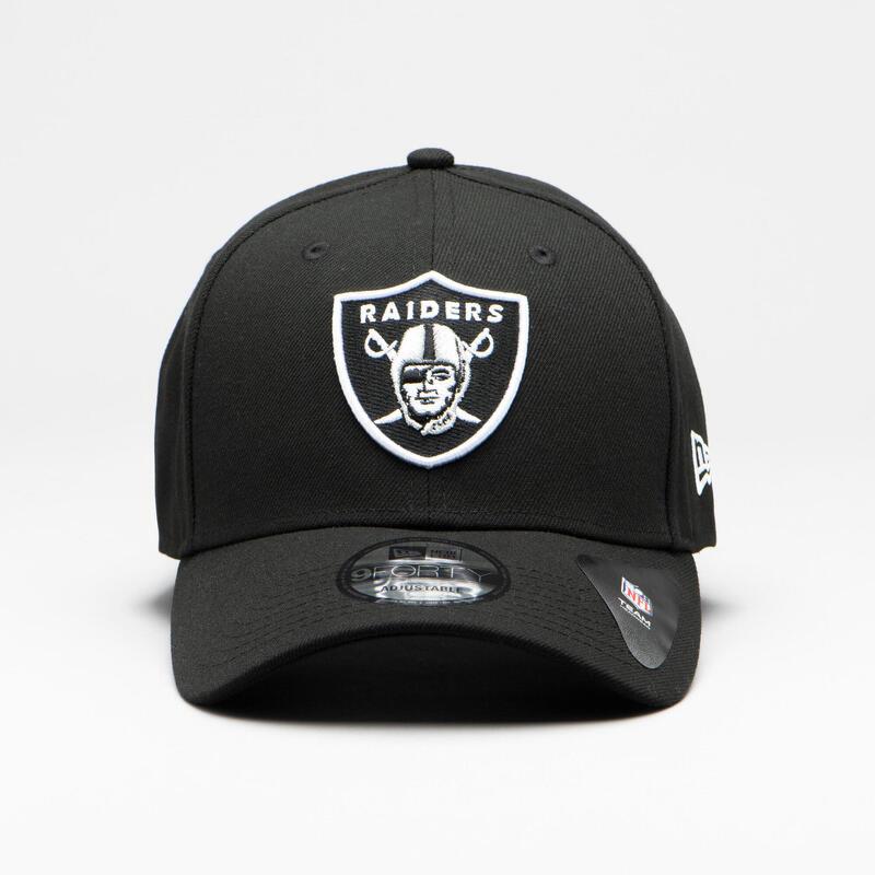 Casquette pour adulte NFL The League Las Vegas Raiders noire.