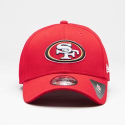 Casquette pour adulte NFL The League San Francisco Forty Niners rouge.