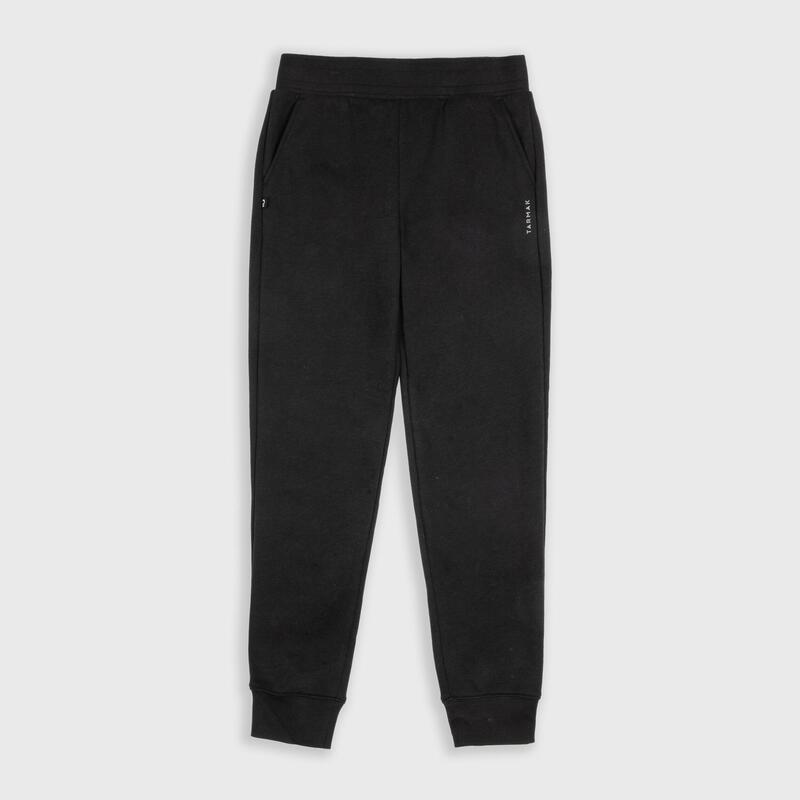 Pantalon Baschet P100 Negru Copii