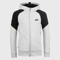 Boys'/Girls' Basketball Jacket J500 - Grey/Black
