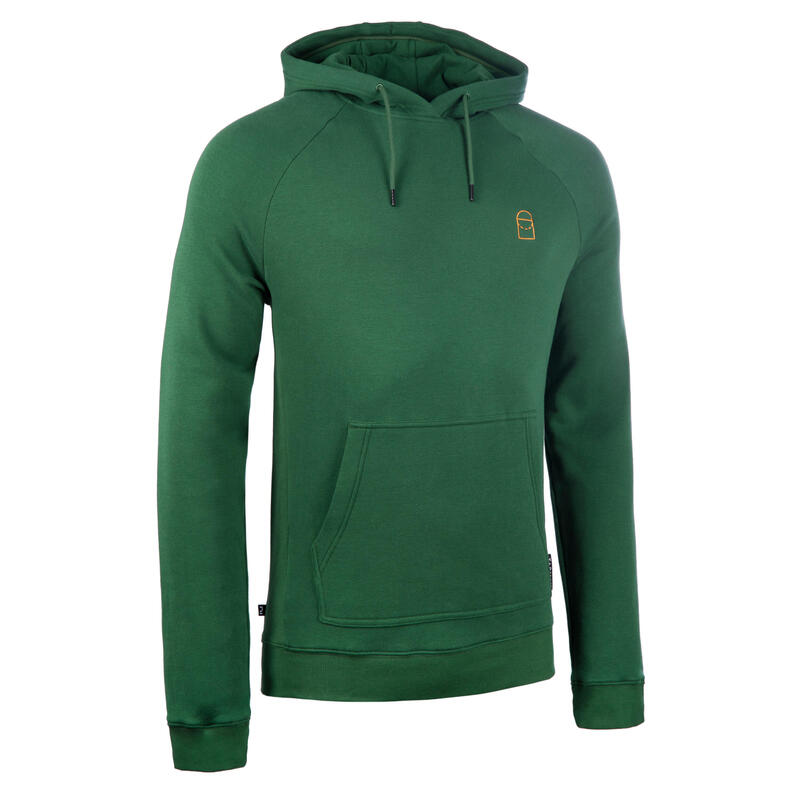 男款籃球連帽衫H100 - 綠色