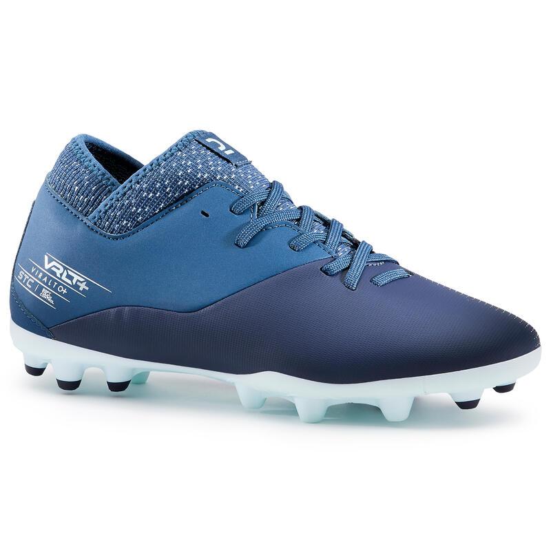 Women's Football Boots Viralto+ I MG - Blue
