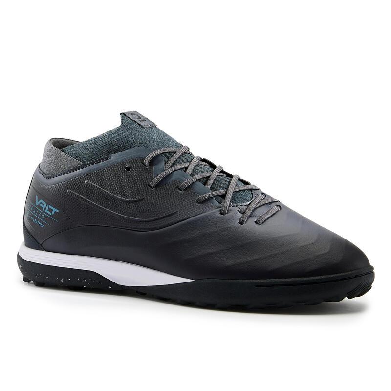Premium Leather Turf Football Boots Viralto IV TF - Black