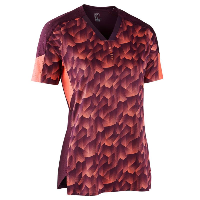 Voetbalshirt dames F900 koraal