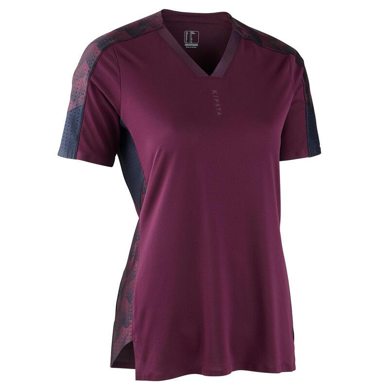 Camiseta de Fútbol Kipsta F900 Mujer Violeta