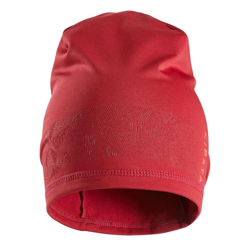 Bonnet Keepdry 500 adulte football bordeaux