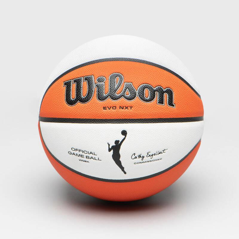 BASKETBALOVÉ MÍČE Basketbal - OFICIÁLNÍ MÍČ WNBA VEL. 6 WILSON - Basketbalové míče