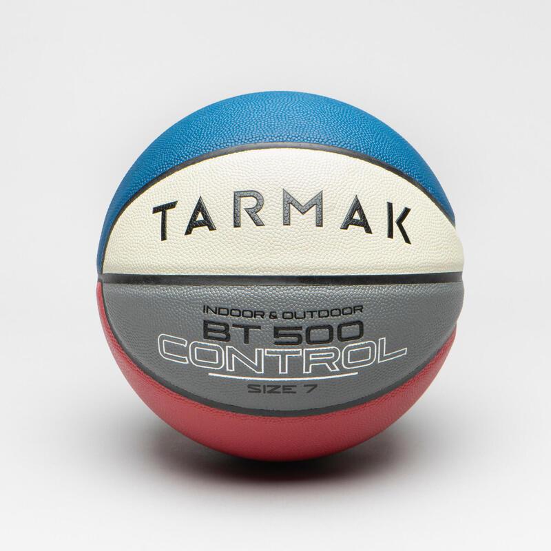 Basketbal voor heren en jongens vanaf 13 jaar BT500 maat 7 blauw/wit/rood