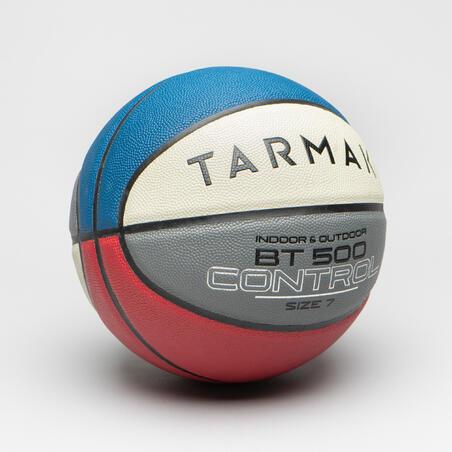 Bola Basket Ukuran 7 Laki-Laki/Pria (mulai 13 Tahun) BT500 - Biru/Putih/Merah
