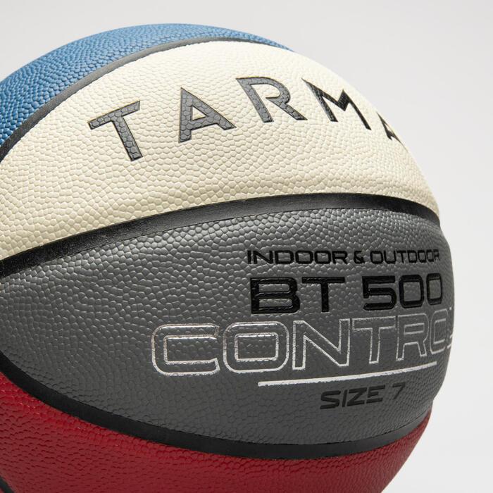 Ballon de basket BT500 T7 7 Bleu Blanc Rouge garçon et homme à partir de 13 ans.