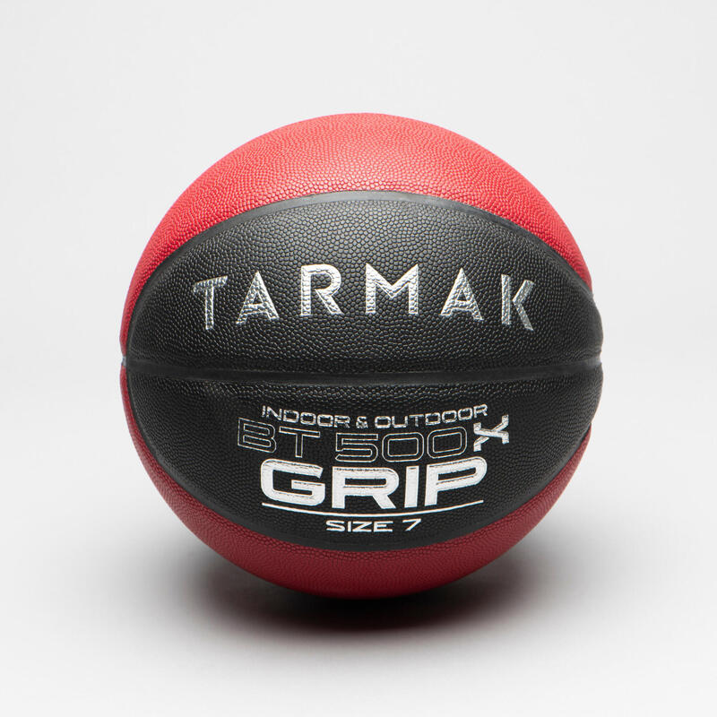 BT500X Grip Adult Size 7 Basketball - Noir Rouge