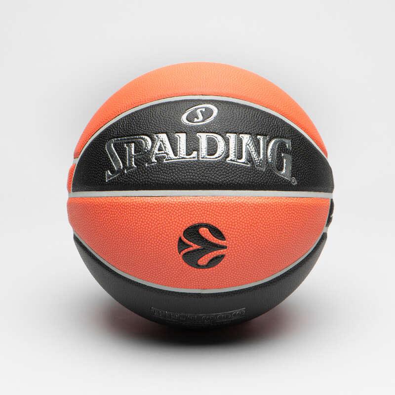 ТОПКИ ЗА БАСКЕТБОЛ СЪСТЕЗАНИЯ Баскетбол - ТОПКА TF1000 EUROLEAGUE V2 SPALDING - Топки